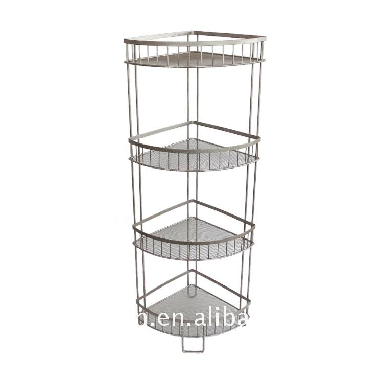 2017 hot style wire bathroom rack with suction Of New Structure