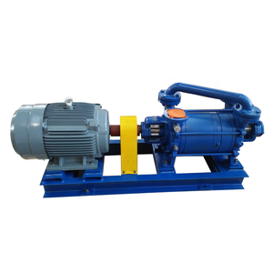 EVP factory price DLV-500 equal to SIHI LPH65320 two stage direct drive liquid water ring vacuum pump
