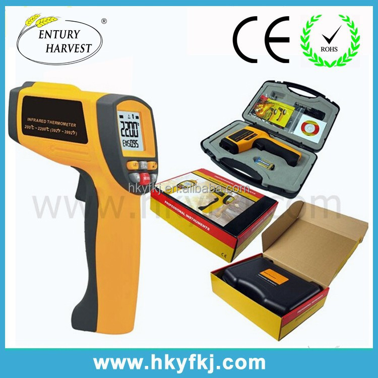 industrial infrared electronic hydrometer high temperature laser tester S-HW2200