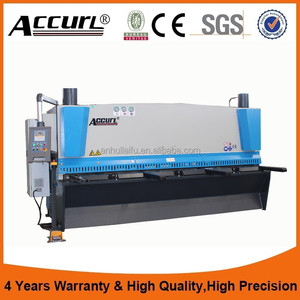 Top Quality 2017 New Design cnc metal shearing machine 16mm,automatic cutter guillotine,bosch metal cutting machine