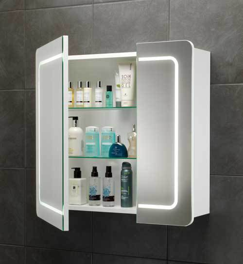 New Style Wall Mount Medicine Cabinet With Double Sided Mirror ...