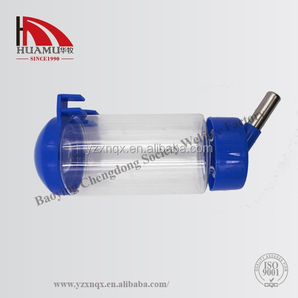 rabbit water drinkerr blue 200*100*50mm rabbit feeder