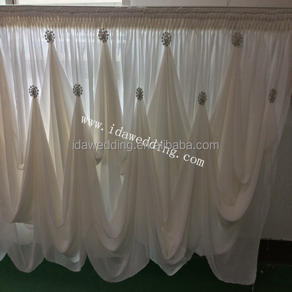 Exceptionnel Ida Elegant Chiffon Table Skirt For Wedding Decor (idats01)   Buy Table  Skirts For Sale,Table Skirts For Sale,Table Skirts For Sale Product On  Alibaba.com