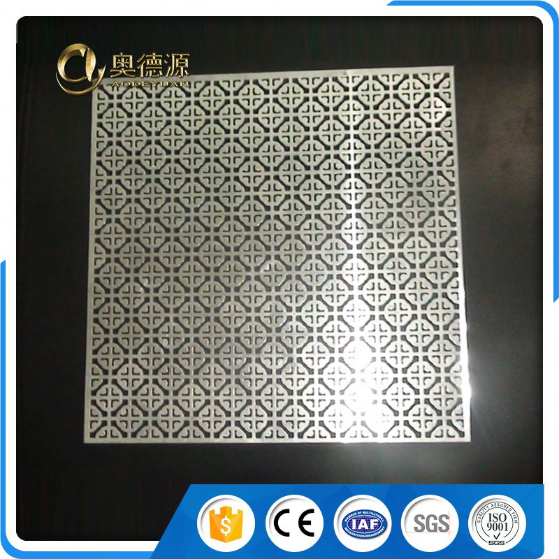 Steel perforated metal tray for bench