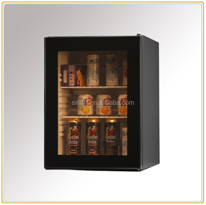 Electronic Absorption thermoelectric minibar with class door