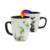 Baby high quality ceramic magic tea cup sublimation