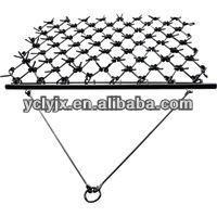 1BQ spring tooth drag harrow hot sale 3 point hooked for farm