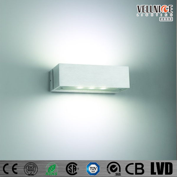 4 Way Cob Led Indoor / Outdoor Wall Light 4*1 W For Home Hotel Bar ...