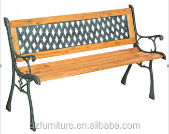 Easy Assembling Classic Outdoor Patio Long Wooden Bench/garden Used Wooden  Bench