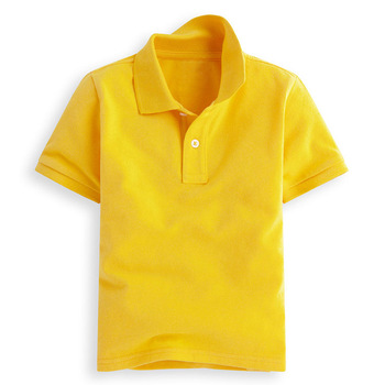 df7acbcd1 High Quality Short Sleeve Children Polo T Shirts 100% Cotton Blank Kids  Polo Shirts Wholesale