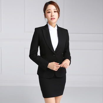 2 Piece Coat Skirt Las Office Suits For Women