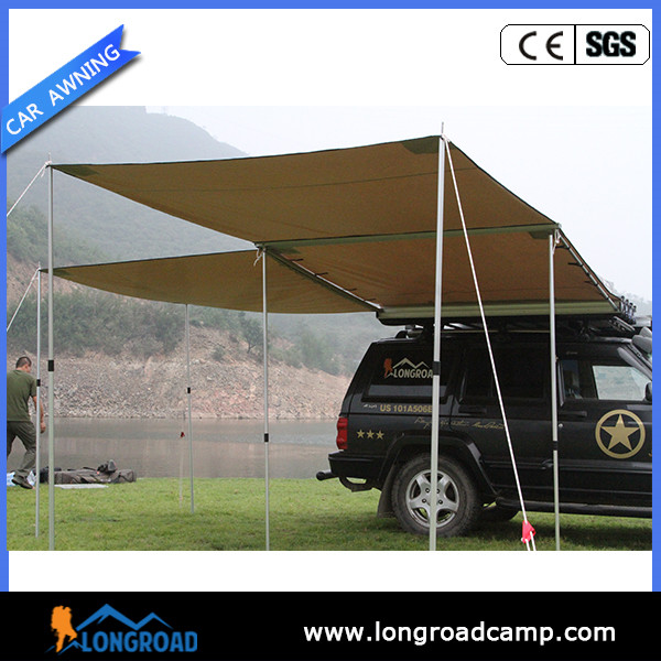 UV resistant Trailer Car side Awning