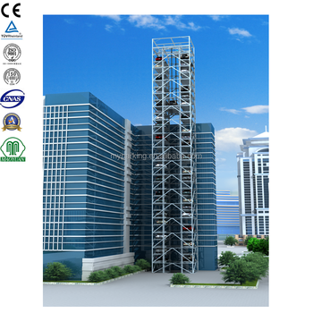 Tower Parking Smart Vertical Elevator Parking Automatic