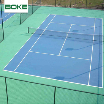 Outdoor Badminton Court Flooring Acrylic Paint For