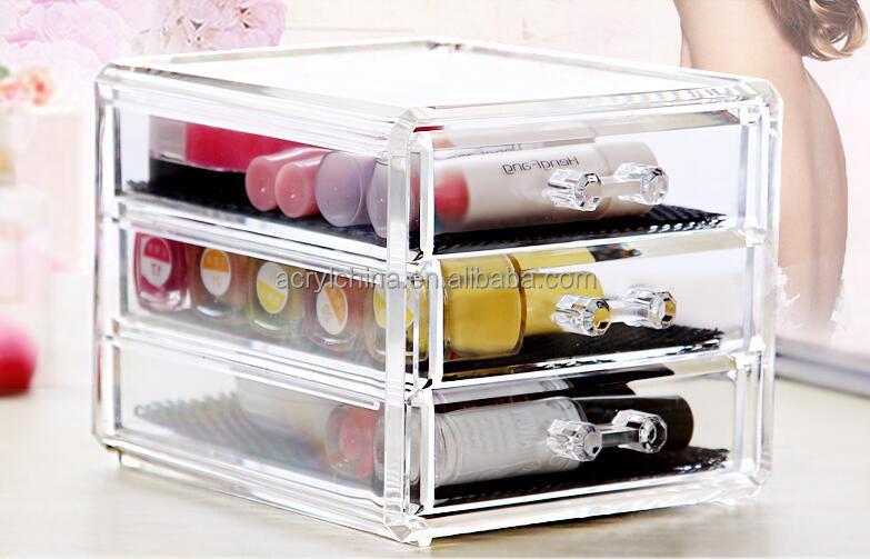 grossiste boite rangement maquillage acrylique acheter les meilleurs boite rangement maquillage. Black Bedroom Furniture Sets. Home Design Ideas