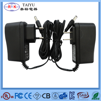 7-15w Ac Dc Adapter 12v 5v 1a 2a Power Adapter With Ce Rohs Ul ...