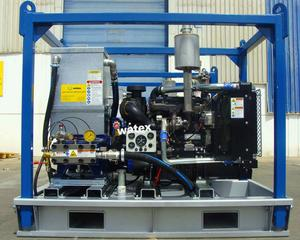 Diesel high pressure water jet cleaner/Jet Power High Pressure Washer/hydro blasting equipment for sale