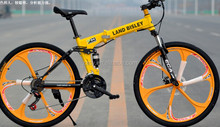 2016 new design lannd rover folding mountain bicycle folding MTB