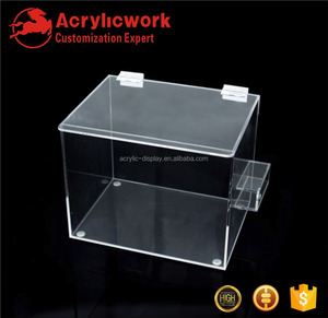 ACRYLICWORK PMMA plexiglass supermarket food store acrylic display beef dispensing box