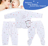 Cute Printed 100% Cotton 100% gots certified baby clothing BB008