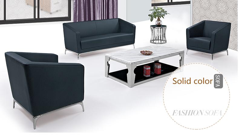 Liansheng meubles moderne bureau salon canapé, bureau canapé en cuir ...