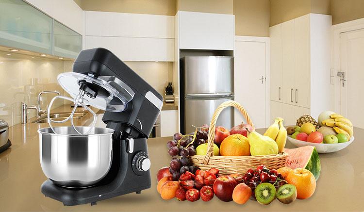 5.5L Eggs whisk mixer Kitchen Stand Food Milkshake/Cake /Dough Maker Kneading Machine Electric Dough Mixer