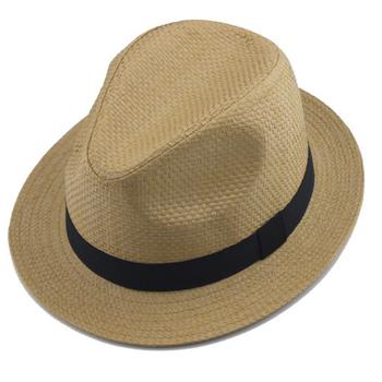 Alibaba della signora donne degli uomini carta di fedora della paglia  cappello panama 6429c1dea498