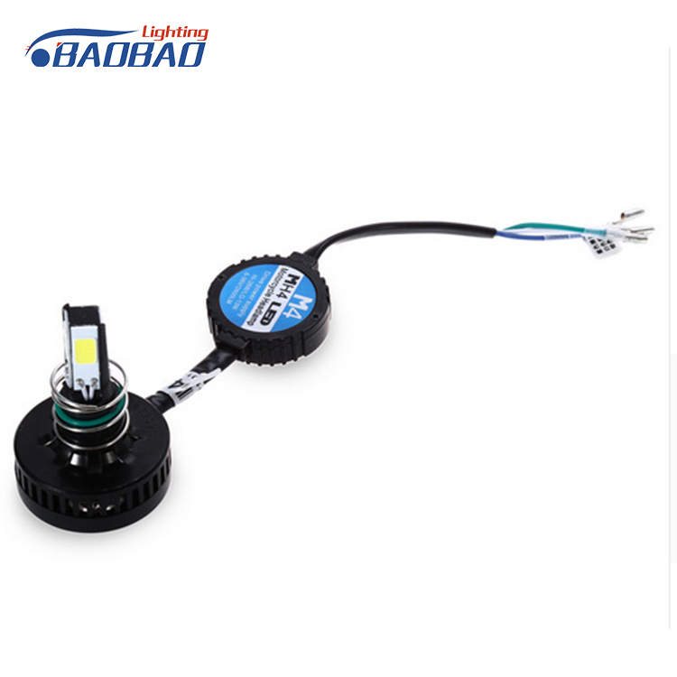 Factory price 4w 6-36v 3500LM easy installation quick start motorcycle led headlight headlamp