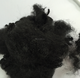 Recycled dyed black polyester chemical fiber for textile