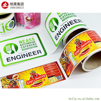 Cheap Label Sticker Printing Service In China