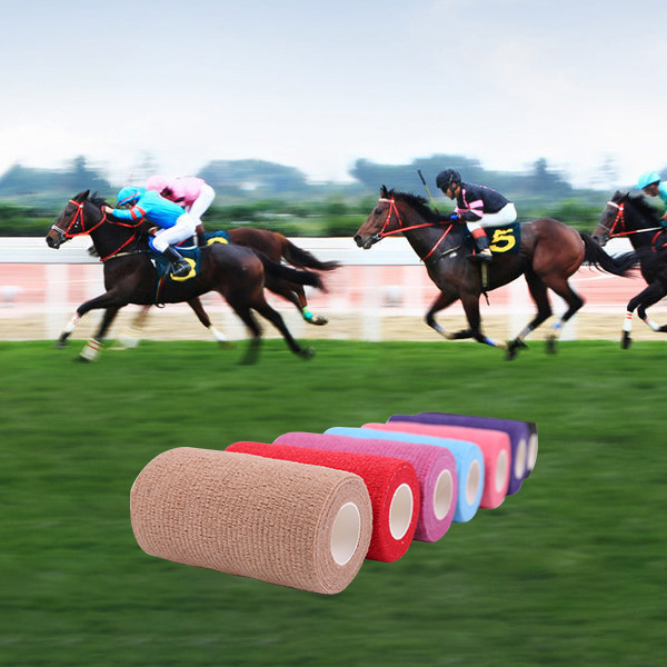 CE FDA Approved Horse care Cohesive Bandage Vetwrap Equestrian Products