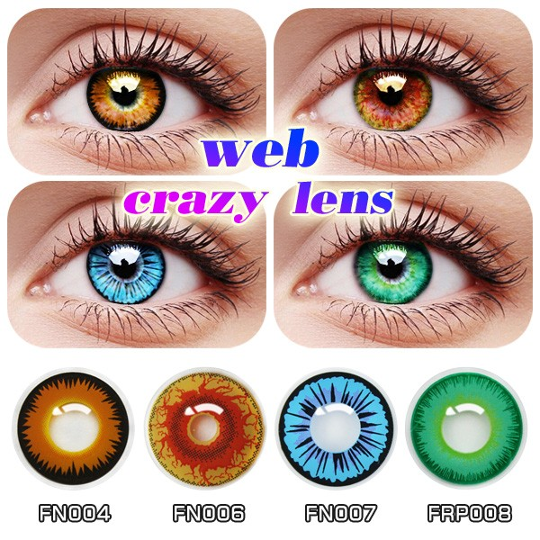 New Design Cosplay Cat Eye Contact Lens Very Cheap Various Colored