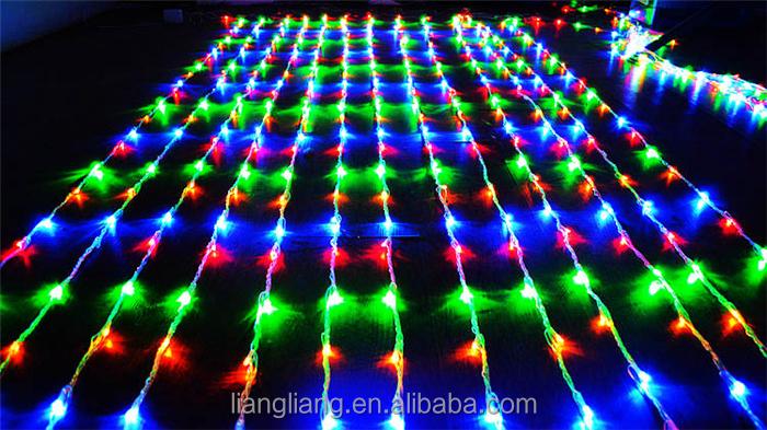 Multicolor Led Icicle Lights Rain Drop Christmas Lights For ...