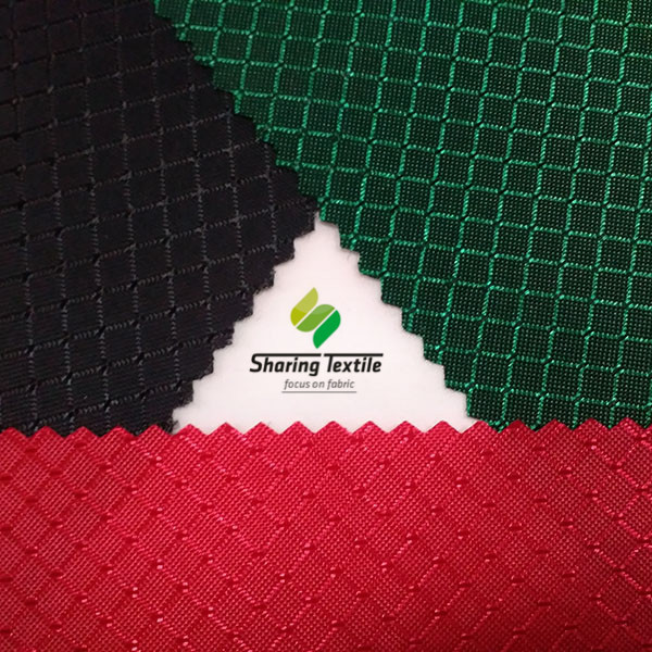 Wholesales Regular Colors Diamond Ripstop Oxford Fabric/Rhombus Ripstop Oxford Fabric/Argyle Ripstop Oxford Fabric