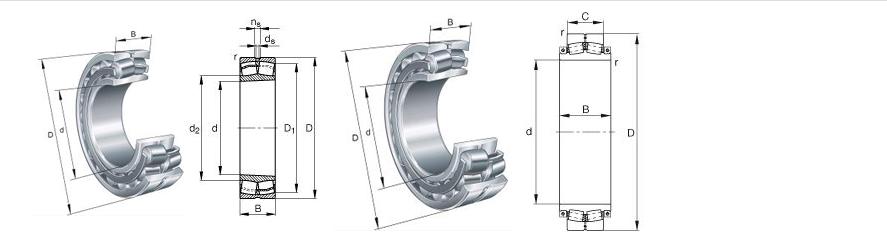 China bearing manufacturing company supply 22326CCJA VA405 spherical roller bearings