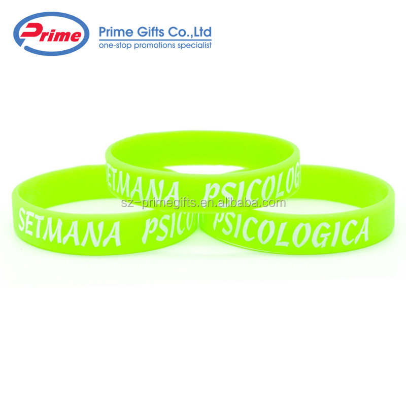 Custom Camouflage Silicone Wristband with Your Logo for Sale