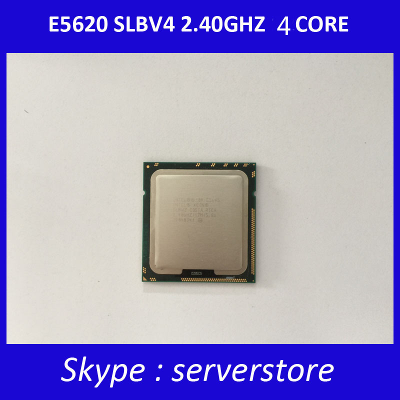 E5620 SLBV4 2.4GHZ 12M 80W Quad-Core CPU for Server