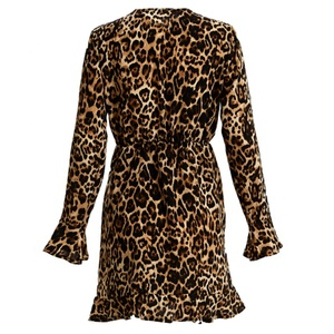 Personalized New Style Wholesale Women Leopard Print Dress