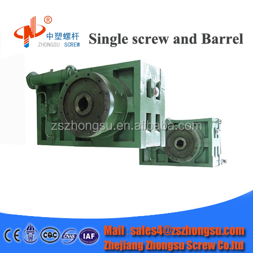 SJY ZLYJ Serial Gearbox for zhongsu plastic Single screw barrel