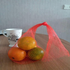 small net mesh fruit packaging bags cheap gift bags