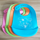 AMAZON popular baby silicone bibs water proof bids