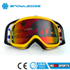 2016 New Arrival Motocross/Ski Goggles with tear off/roll off available HB-127