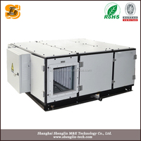 SHENGLIN Shanghai Good Quanlity 5 ton rooftop package air conditioning ac unit