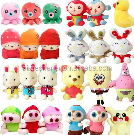 Scented Stuffed Plush Toys Filling with Fruit or Candy Scents of Aromatic Beads