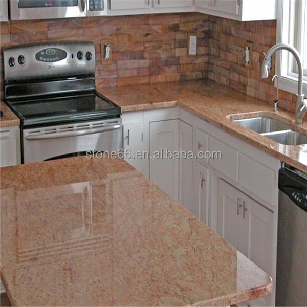 2016 Hot Sale Cheap Prefab Kitchen Granite Countertops Buy Solid Color Granite Countertop