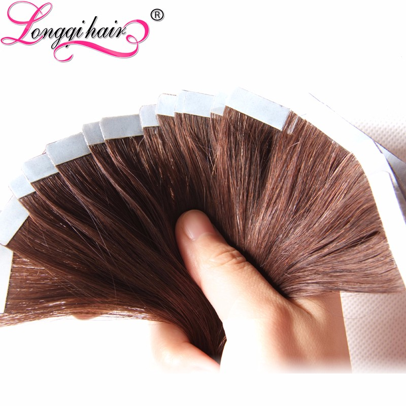 Wholesale 2014 Hot Selling 100 Human Hair Adhesive Tape 10A Hair Indian 8Oz Angela Hair Profucts