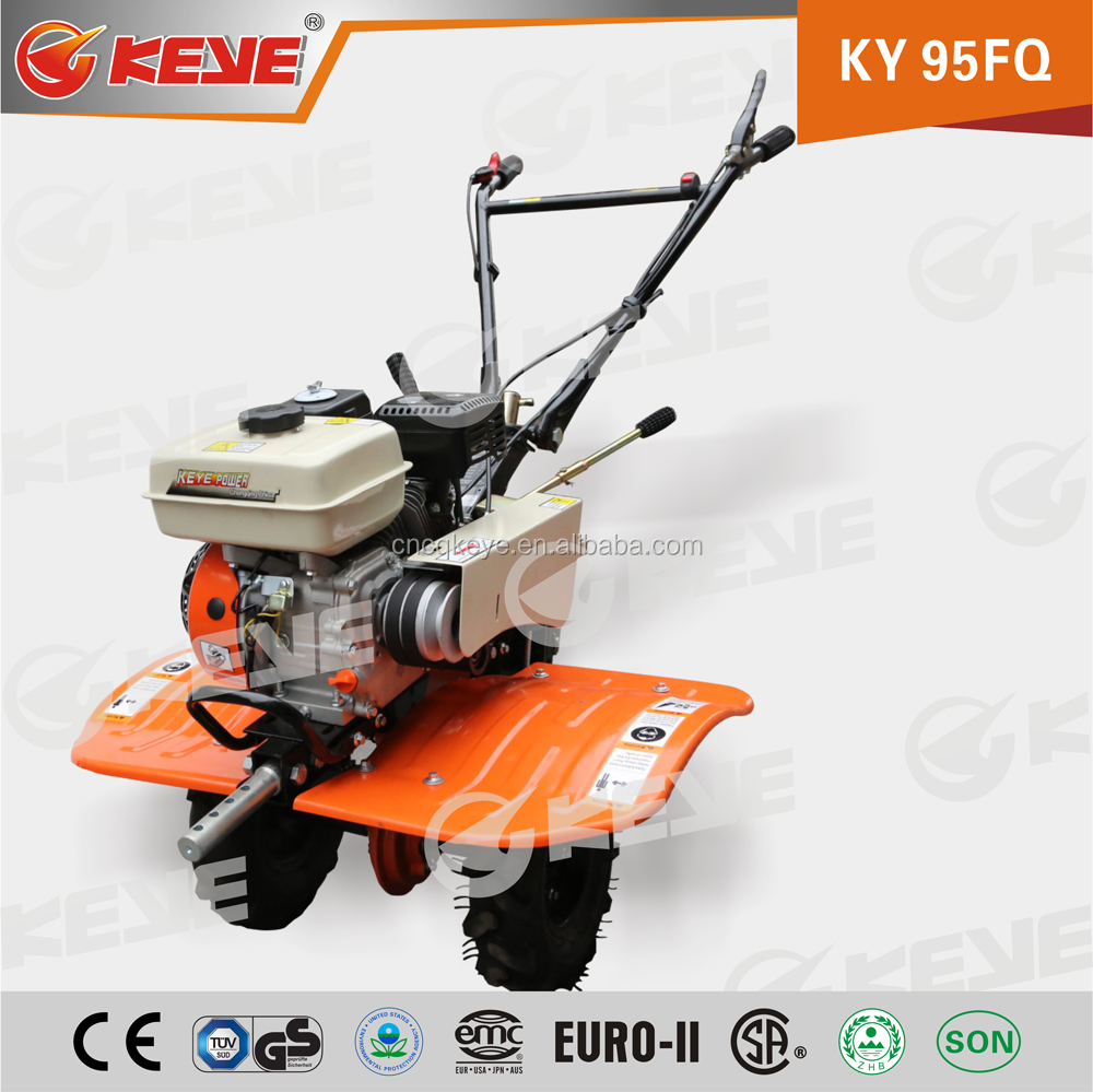 7HP Chain Gear Mini Farm Cultivator Hand Agricultural Rotavator For Sale