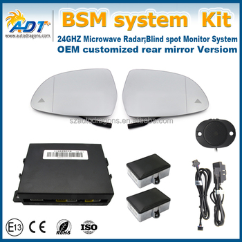 Blind Spot Assist Warning Sensor Safety Detection System With Mirror Non Obd Function For Brand Cars Buy Blind Spot Assist Warning System Blind Spot
