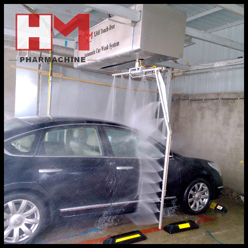 Touchless Automatic Car Wash Machine