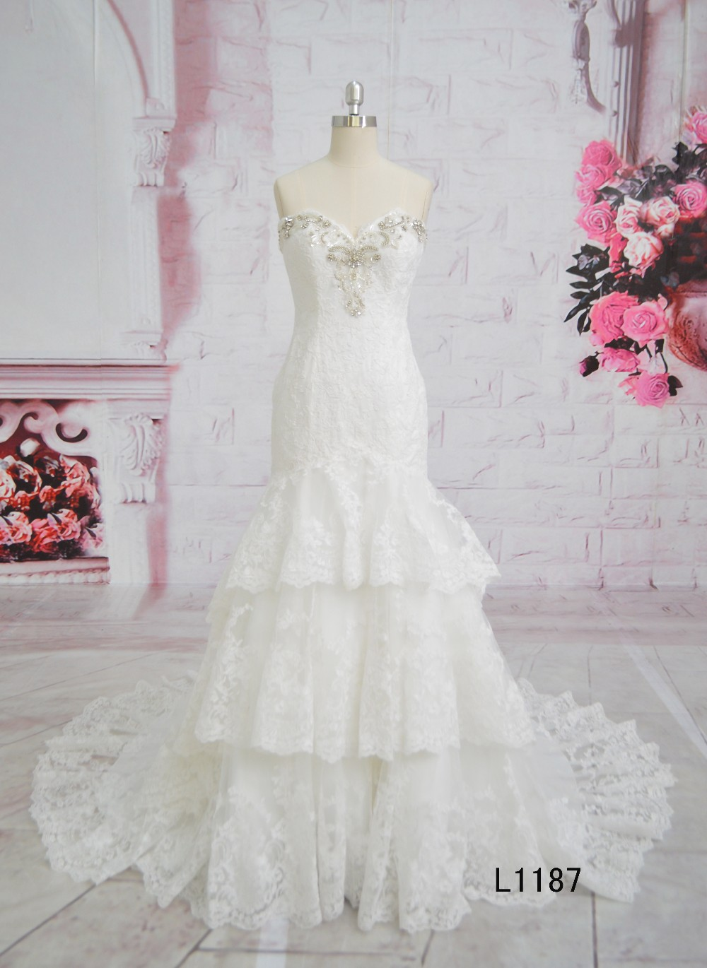 Divisoria Wedding Gowns And Bridal Dress Meirmaid Dress Wedding Gown ...